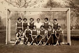 Susan Ahn Cuddy LACC Women's Field Hockey Team