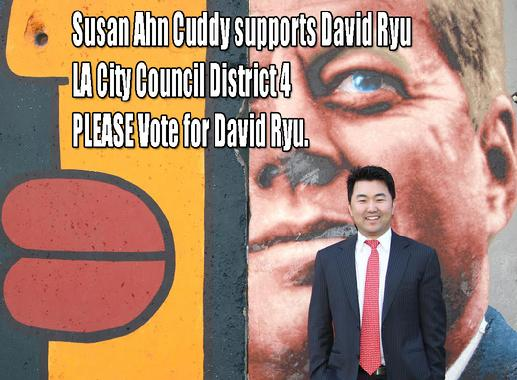 SAC supports David Ryu for LA City Council District 4. Please vote for David on MAY 19th